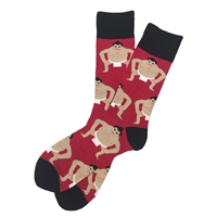 The School of Sock - The Sumo Red Sumo Wrestler Sock
