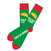 The School of Sock - The Cindo De Drinko Taco Bout a Party - Green, Red and Yellow Taco Sock