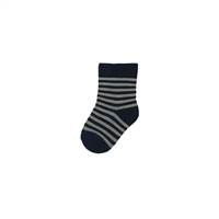 The School of Sock - The Titan Navy and Blue Striped Kids Sock