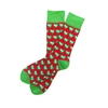 The School of Sock - The I Heart Red and Green Kansas City Sock