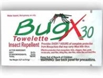 Bug X 30 Insect Repellent Towelette
