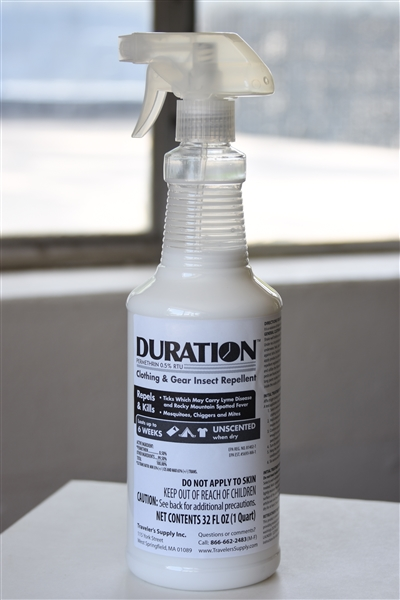 1 QT of Duration Permethrin Ready-To-Use Clothing Trigger Spray