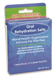 Oral Rehydration Salts 3 pk box
