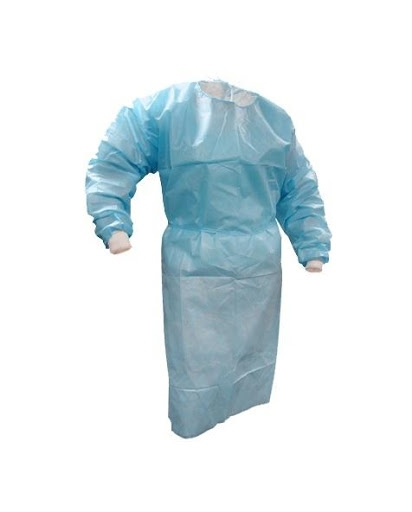 Level 1 Disposable Isolation Gown Bag of 10