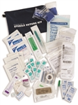 Travelers' Sterile Suture Kit, Many travelers abroad have contracted infections through reused medical supplies and unsanitary conditions.