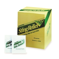 Sting Relief Pads - 12 Pack