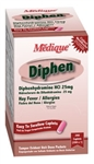 Diphen (comapres to Benadryl) Allergy/Hay Fever Reliever 100Packets