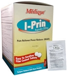 I-Prin Pain Reliever/Fever Reducer  50 Packs of 2 Tabs