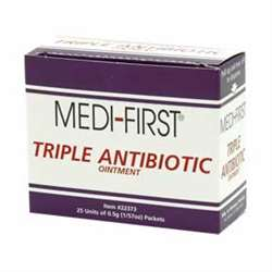 Triple Antibiotic Ointment - 25 Pack