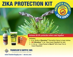 ZIKA Protection Kit for optimum protection against mosquitoes and ticks