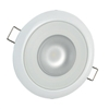 Lumitec Mirage Flush Mount Down Light Spectrum RGBW, White Housing