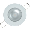 Lumitec Mirage Flush Mount Down Light Spectrum RGBW, Glass Bezel