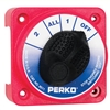 Perko Compact Medium Duty Battery Selector without Key Lock 8511DP