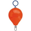 "Polyform Mooring Buoy with Iron 17"" Diameter Red"