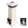 "Dock Edge Cleatlite Solar Dock Light with Stainless Steel Mooring Cleat 12"" , 96-250-F"