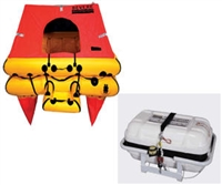Revere Offshore Elite 6 Person Life Raft, Canister (No Cradle Included)