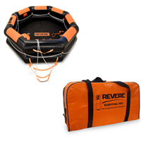 Revere IBA 10 Person Liferaft Valise, USCG Approved