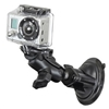 RAM Mount Gopro Here Short Arm Suction Cup Mount