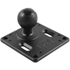 "Ram Mount 75Mm X 75Mm Vesa 3.625"" Plate with 1.5"" Ball"