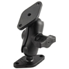 "Ram Mount 1"" Diameter Ball Mount Short Arm And 2 Diamond Bases"