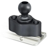 "RAM Mount 1/4""-20 Female Threaded Hole with 1"" Ball"
