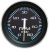Faria Tachometer 0-6000 33004 Black, For 4, 6, 8 Cylinder Gas Inboard & I/O'S . O/B with Alternator
