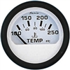 Faria Water Euro White Temperature Gauge, 100-250F 12904