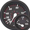 Faria Professional Red Series Tachometer, 7000 RPM Universal -All Outboard 34617