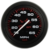 "Teleflex Amega Series 3"" Speedometer Kit, 50 MPH, Includes G Sender 57898P"
