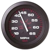 Teleflex Amega Series Speedometer Kit, 65 MPH, Includes G Sender 57900P