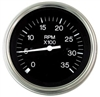 "Teleflex Premier 3"" Lighted Tachometer, O/B & 4 Stroke Gas, 7000 RPM 61278p"