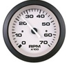 "Teleflex Driftwood Series 3"" Tachometer, Electric, Outboard & 4 Cyl. Gas, 7000 RPM 61546p"
