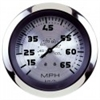 Teleflex Sterling Series Speedometer, Head Only, 80 MPH, Includes G Sender 63476p