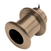 Garmin B75H 130-210 kHz Bronze 0 Deg Thru-Hull Transducer, 300W, 8-Pin