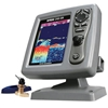 SI-TEX CVS126 Dual Frequency Color Echo Sounder with B744V Bronze Thru-Hull Transducer
