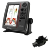 SI-TEX SVS-760 Dual Frequency Sounder 600W Kit with Transom Mount Triducer