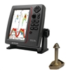 SI-TEX SVS-760 Dual Frequency Sounder 600W Kit with Bronze Thru-Hull Temp Transducer - 1700/50/200T-CX