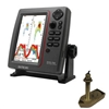 SI-TEX SVS-760 Dual Frequency Sounder 600W Kit with Bronze Thru-Hull Temp Transducer - 307/50/200T-CX