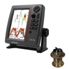 SI-TEX SVS-760 Dual Frequency Sounder 600W Kit with Bronze 20 Degree Transducer