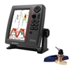 SI-TEX SVS-760 Dual Frequency Sounder 600W Kit with Bronze Thru-Hull Speed & Temp Transducer