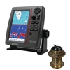 SI-TEX SVS-760CF Dual Frequency Chartplotter/Sounder with North America Navionics+ Flexible Coverage & Bronze 20 Degree Transducer