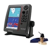 SI-TEX SVS-760CF Dual Frequency Chartplotter/Sounder 600W Kit with Bronze Thru-Hull Triducer