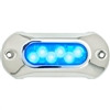 Attwood Light Armor Underwater LED Light - 6 LEDs - Blue 65UW06B-7