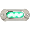 Attwood Light Armor Underwater LED Light - 6 LEDs - Green 65UW06G-7