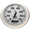 "Faria Dress White 4"" Tachometer with Hour meter, 7,000 RPM (Gas, Outboard) 33140"