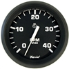 "Faria Euro Black 4"" Tachometer, 4,000 RPM (Diesel, Mechanical Takeoff & Var Ratio Alt) 32842"