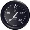 "Faria Euro Black 4"" Tachometer, 4,000 RPM (Diesel, Magnetic Pick-Up) 32803"
