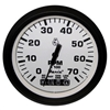 "Faria Euro White 4"" Tachometer with Systemcheck Indicator, 7,000 RPM (Gas, Johnson/Evinrude Outboard) 32950"