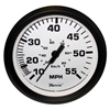 "Faria Euro White 4"" Speedometer, 55MPH (Mechanical) 32909"