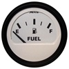"Faria Euro White 2"" Fuel Level Gauge (E-1/2-F) Gp9358 12901"